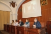 De izqda. a dcha. Antonia Navarro, María Martínez-Atienza, Luis Medina Canalejo, María Rosal y José Álvarez.