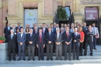 Foto de familia de asistentes a la reunión de RedEmprendia, celebrada en Córdoba