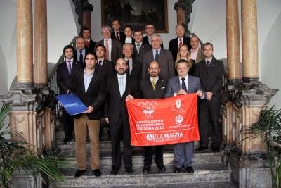 El comité en la Diputación