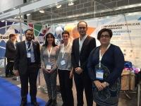 La delegación de la UCO en el congreso internacional celebrado en Liverpool