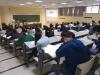 Vista general del aula durante una de las pruebas