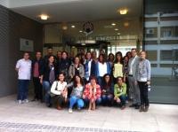 Foto de familia de los participantes en el curso
