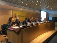 Reunión del Comité Organizador del Foro Transfiere celebrada en Madrid.