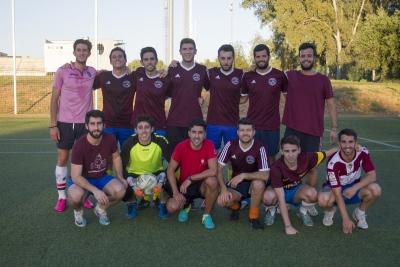 equipo campeón Veterinaria