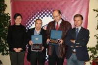 Pilar Dorado,Agustín Rebollo, Antonio Cubero y Rafael Jordano