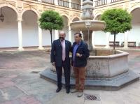 De izquierda a derecha, Manuel Torres y Carlos Dada