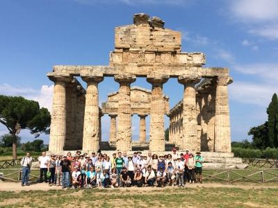 Amigos de la Arqueología Cordobesa durante la visita