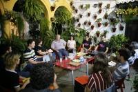 Imagen de una de las actividades en un patio de San Basilio durante la anterior edición
