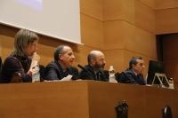 Un momento del acto de inauguración del congreso AEDAN