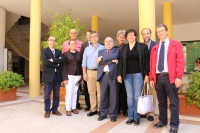 Expertos de diferentes universidades, durante el John of Seville and Limia International Colloquia I