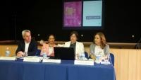 Un momento de la conferencia 'Para una sociedad inclusiva. Lenguaje no sexista'