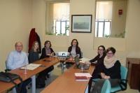 La directora de la Unidad de Igualdad (en el centro), con los integrantes del jurado de esta séptima edición del certamen