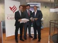 De izq a dcha: Julio de la Vega, Angel Cañadilla y Francisco Gracia