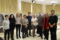 Miembros del jurado del IX Premio Bienal Internacional de Fotografía Contemporánea Pilar Citoler