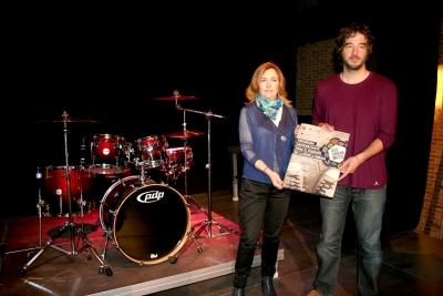 Rosario Mérida y Pablo Rabasco en la presentación de la segunda edición de UCO Urban Music.