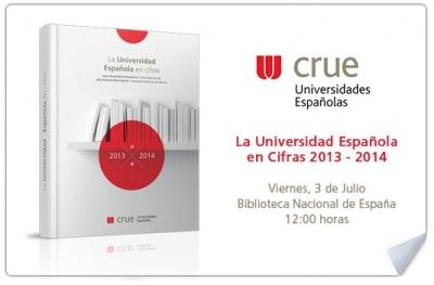Presentación de 'La Universidad Española en Cifras'