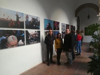 De izquierda a derecha, José Álvarez, Manuela Álvarez y Francisco Acosta.