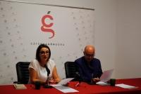 De izquierda a derecha, Marta López y Joaquín Roses