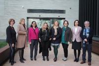 Organizadores y ponentes del encuentro