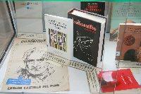 El Rectorado acoge la muestra sobre la Biblioteca de Castilla del Pino.