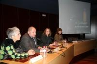 De izqda. a dcha, Oliva Acosta, Manuel Torralbo, Anabel Carrillo y Carmen Calvo