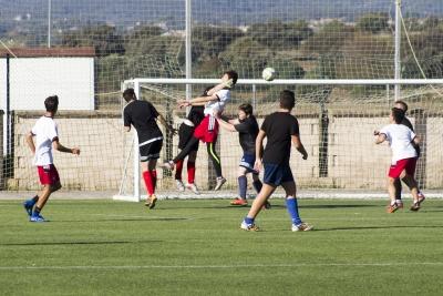 "Partido de fútbol 7: IES Fidiana ""RS"" -– Colegio Almedina"
