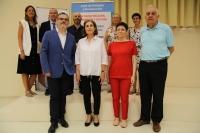 Representantes de las entidades que participan en el desarrollo del XIV Curso del Aula de Religión y Humanismo