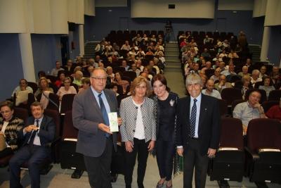 De izda. a dcha. Juan Antonio Caballero, Julia Muñoz, Blanca de Rey y Luis de Córdoba