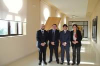De izquierda a derecha, Enrique Quesada, Jesús Banqueri, Daniel Escacena y Carmen Tarradas