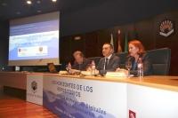 De izquierda a derecha, Ramón Abad, Alfonso Zamorano y Remedios Melero