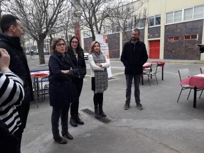 Un momento de la inauguración de la temporada de los desayunos solidarios