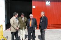 DE izq a dcha :Antonio Carbonell, Juan Luis Martínez, Enrique Aguilar y Juan Capó