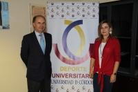 Rosario Mérida y Fernando Rebollo