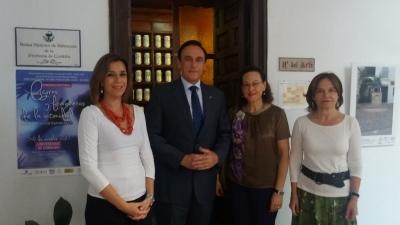 De izquierda a derecha, María Paz Cepedello Moreno, José Carlos Gómez Villamandos, María Ángeles Hermosilla Álvarez y Celia Fernández Prieto