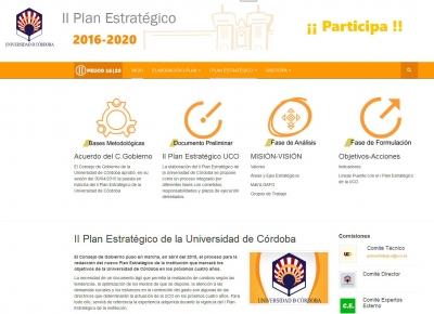La Universidad de Córdoba comienza la fase de exposición pública del nuevo Plan Estratégico