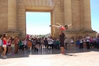 Una actuación en la Puerta del Puente