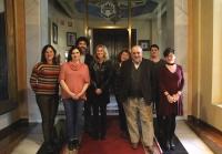 Foto de familia de integrantes del jurado