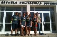 Estudiantes de Bialystok en la EPS de Belmez