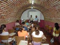 Corduba 04. Jose Adolfo García en Fons Mellaria: ' Un niño delante de un ordenador no aprende a escribir'