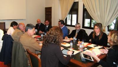 Un momento de la reunión del grupo de trabajo