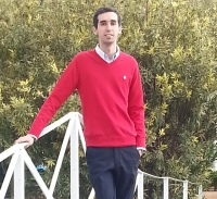 Imagen de Juan Román Raya, número uno en la prueba de Radiofísico Interno Residente de España.