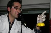 Manuel Mora, durante su monólogo