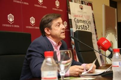 Tomás de Haro durante la rueda de prensa de presentación de la campaña