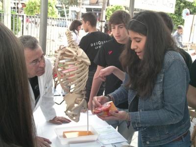 Estudiantes en la edición del Paseo en 2012