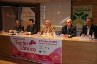 De izquierda a derecha, Alfonso Moyano, Javier Trueba, Enrique Aguilar, Antonio Carrasco y Manuel Pineda