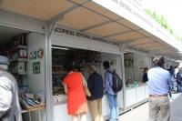 Vista del stand de UCOpress en la Feria del Libro