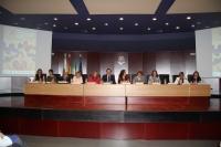 Mesa inaugural del Encuentro de las Unidades de Igualdad