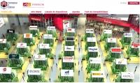 Imagen de las empresas participantes en la feria