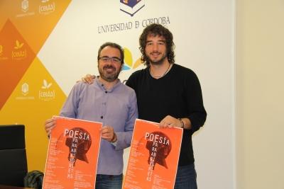 Ángel Calle y Pablo Rabasco durante la presentación del ciclo