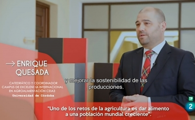 La Universidad de Córdoba se enfrenta a los retos de la alimentación del futuro en TVE